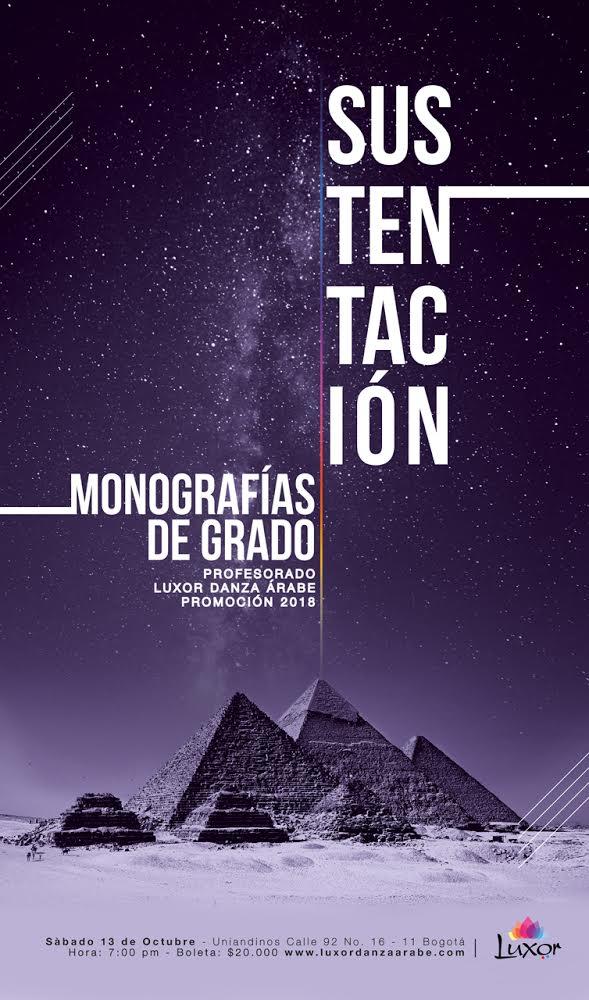 Luxor Danza Arabe - Sustentación monografias