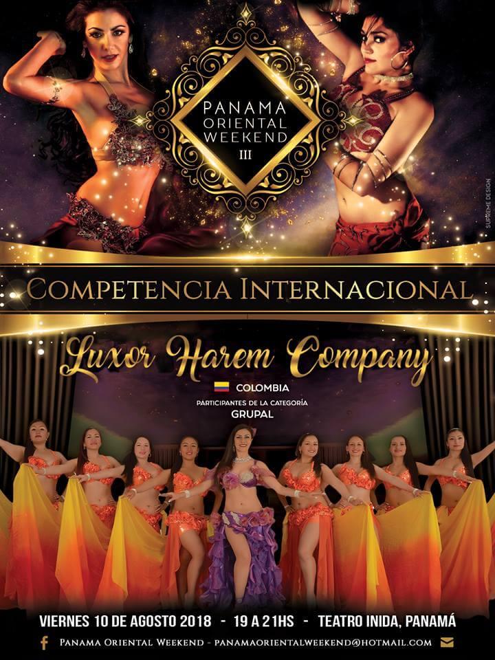Luxor Danza Arabe - LHC en Panama