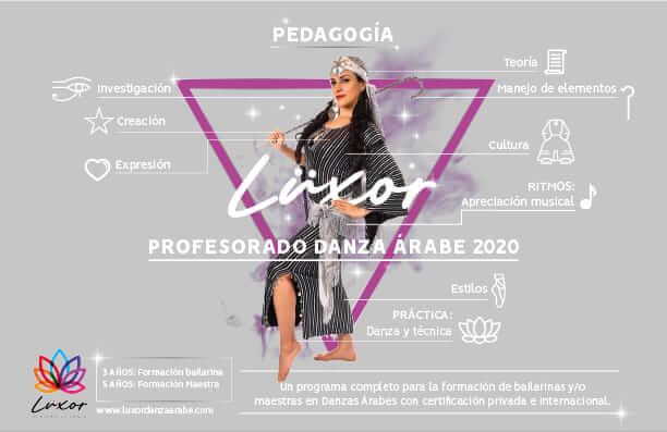 Luxor Academia de danza arabe _Profesorado en danzas árabes 2020
