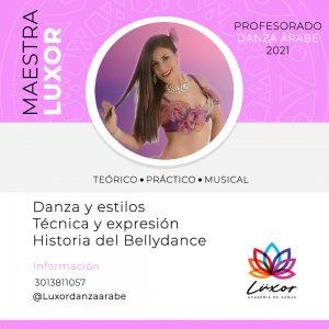 Luxor_Academia_de_danza_arabe_perfil_maestra_luxor