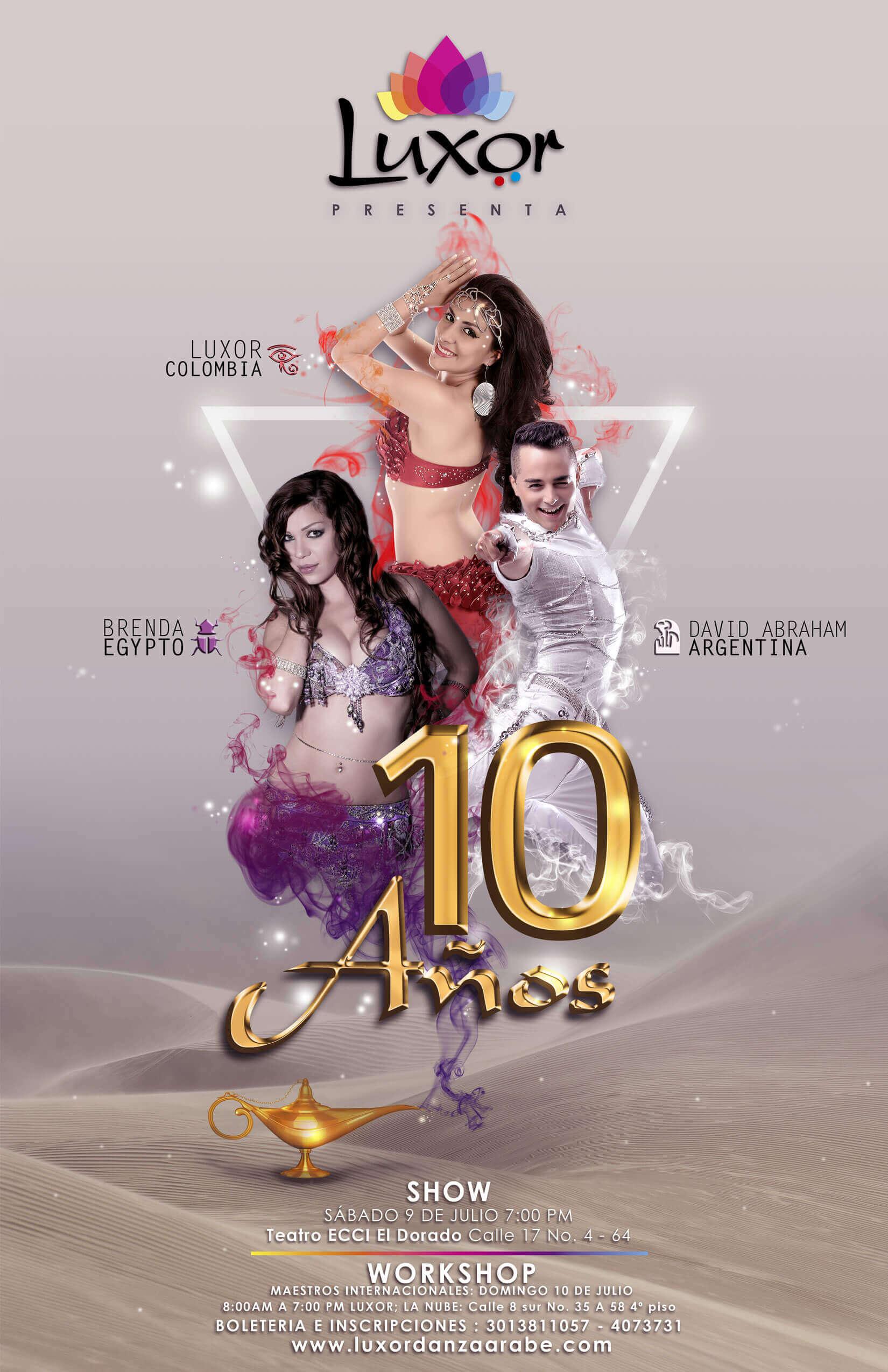 Luxor Danza Árabe - 10 años