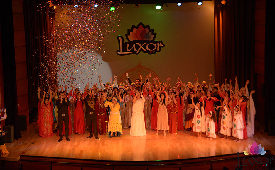 Luxor Danza Árabe - Danza Árabe Bogotá- Al Turath 2017