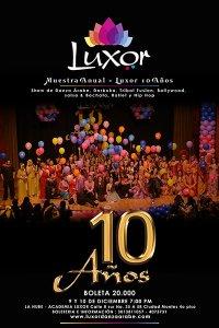 Luxor Danza Árabe Muestra anual